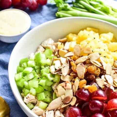 Curry Dijon Chicken Salad