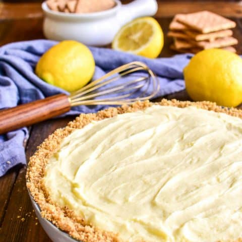 Lemon Pie Cheesecake Dip