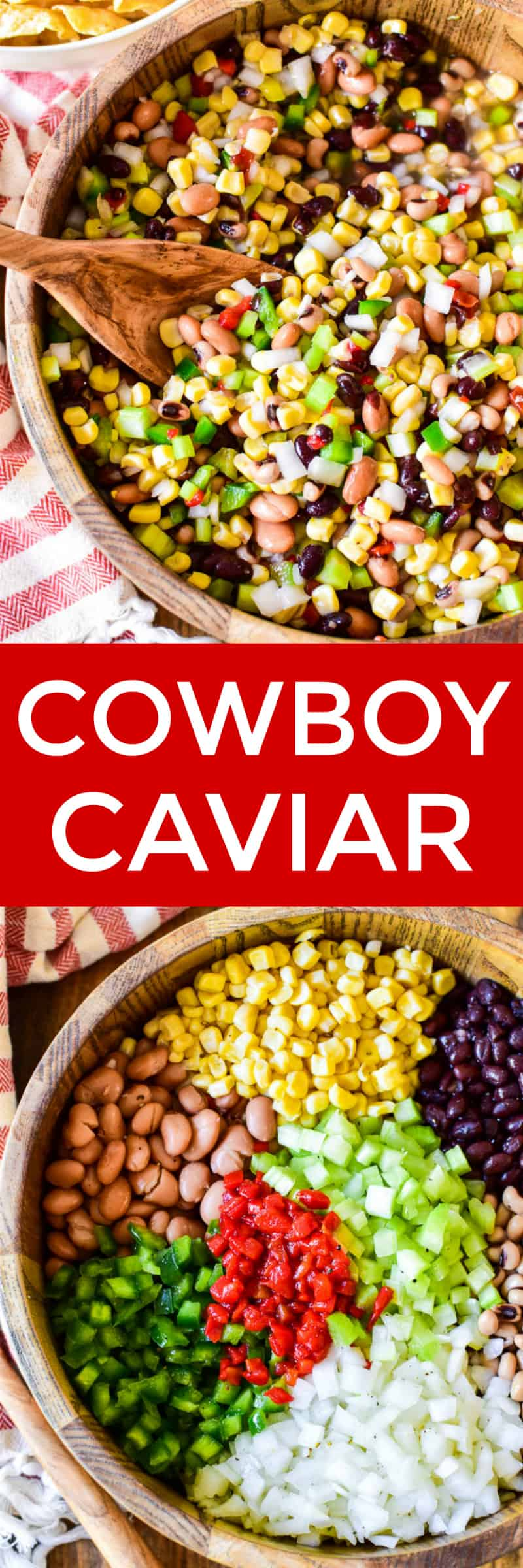 Collage image of Cowboy Caviar