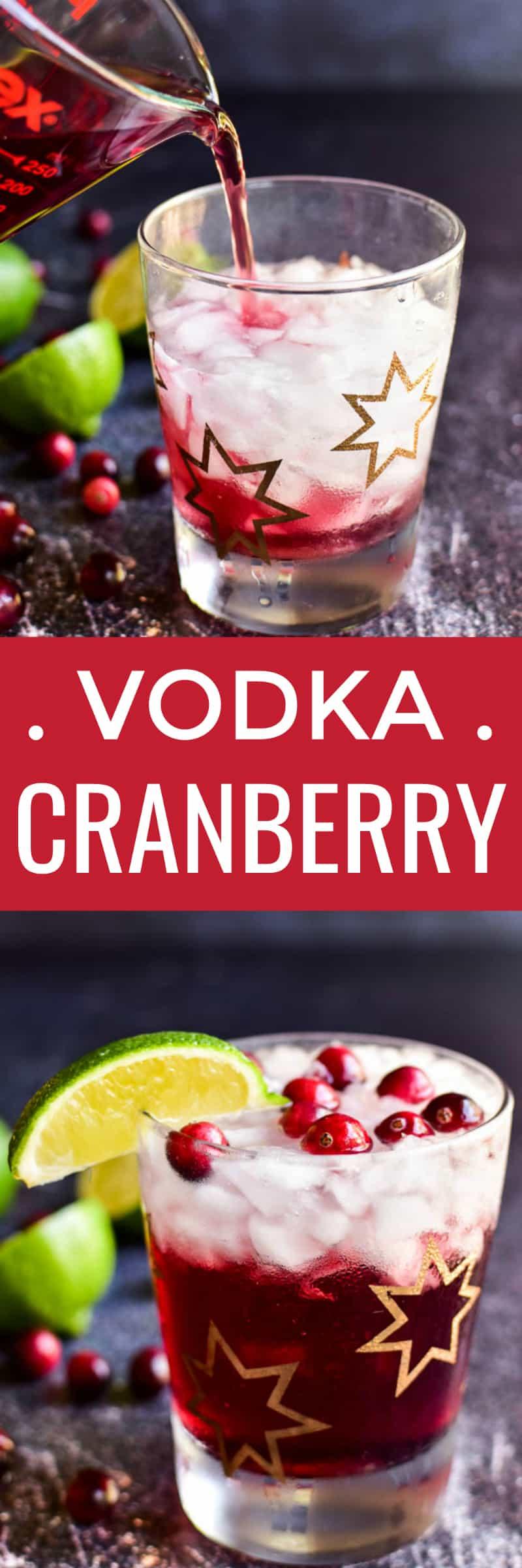 Vodka Cranberry collage image