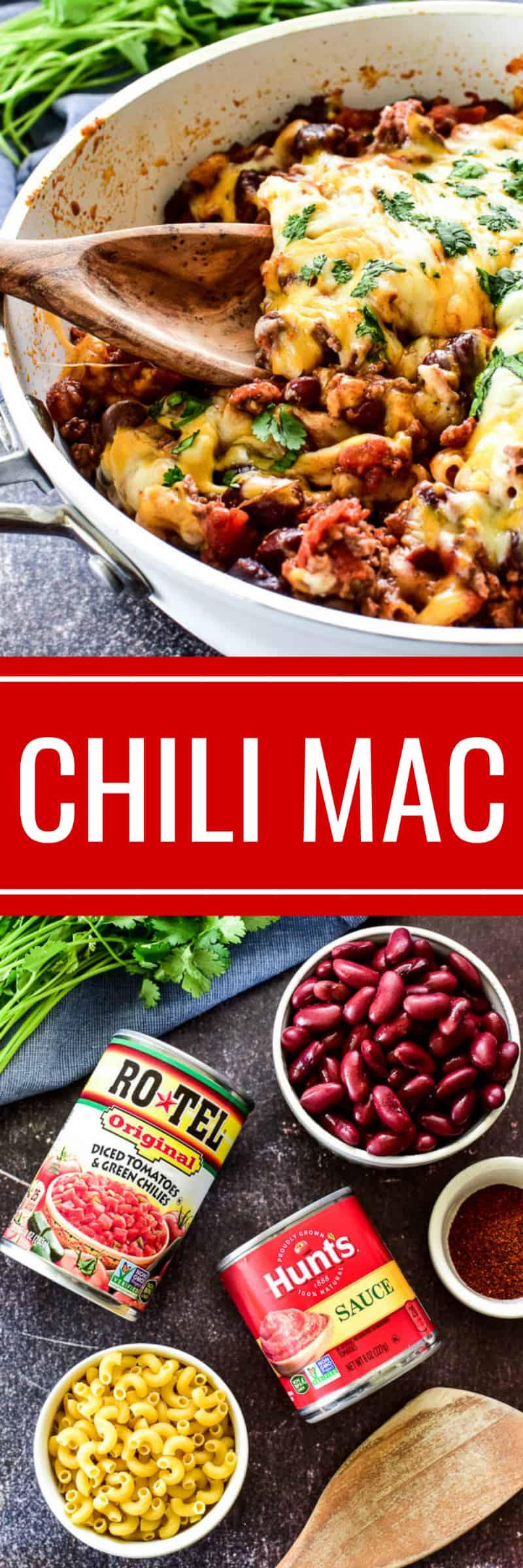 Chili Mac collage image