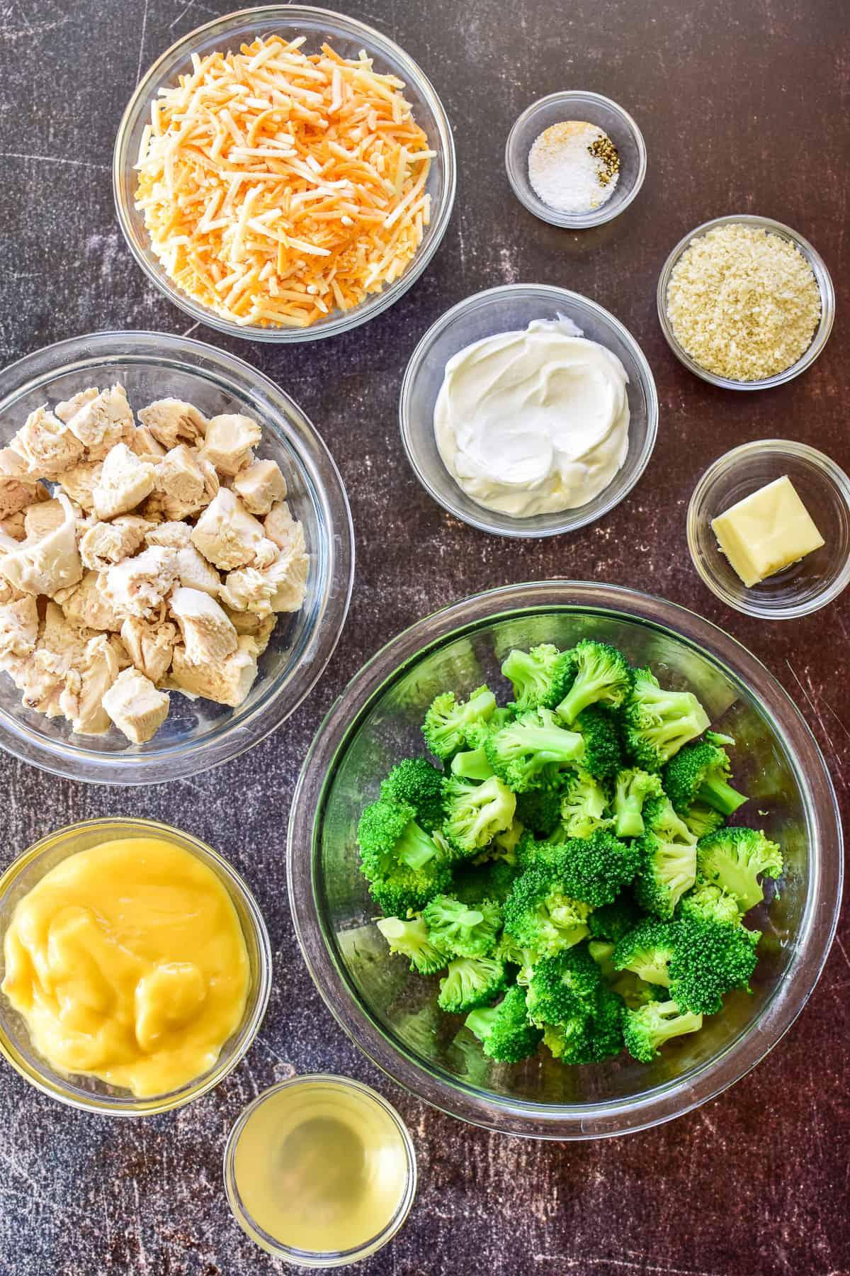 Chicken Divan ingredients