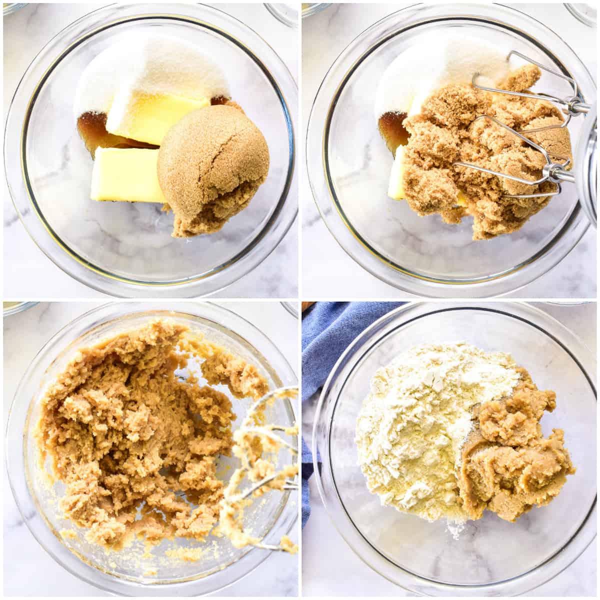 Cookie Dough process shots