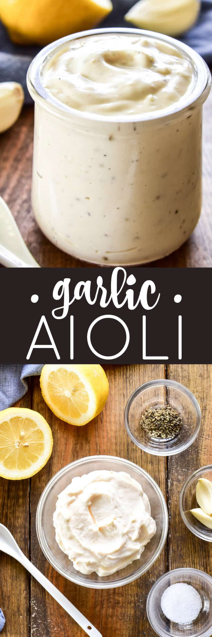 Garlic Aioli Lemon Tree Dwelling