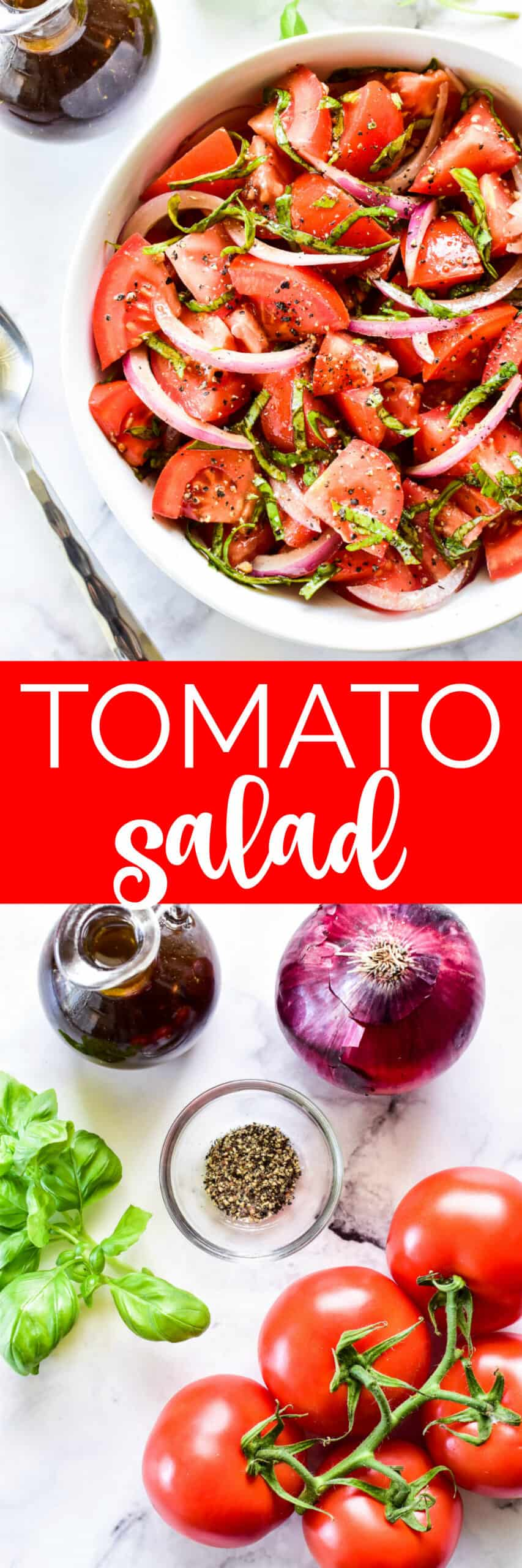 Collage image of Tomato Salad