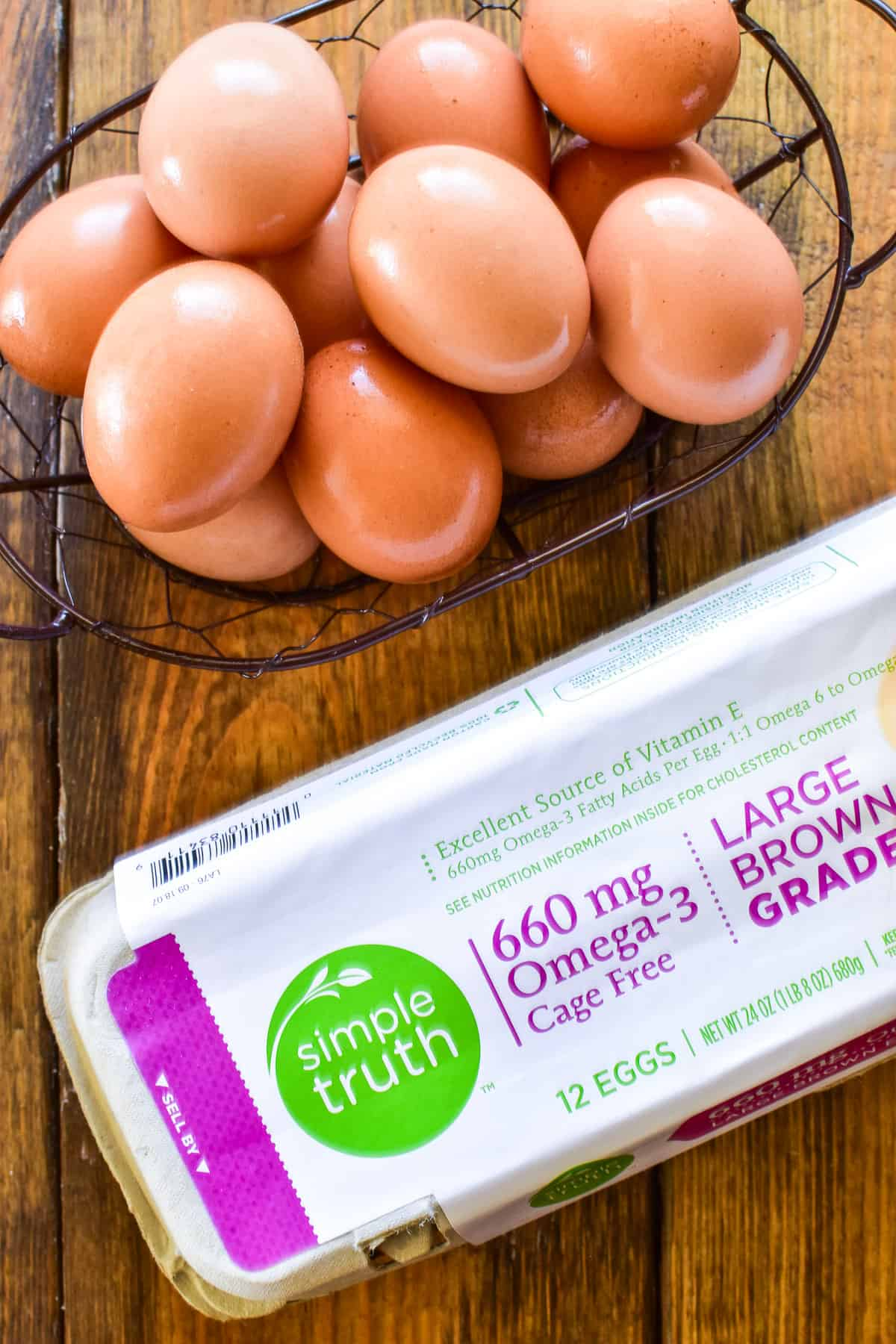 Simple Truth brown eggs