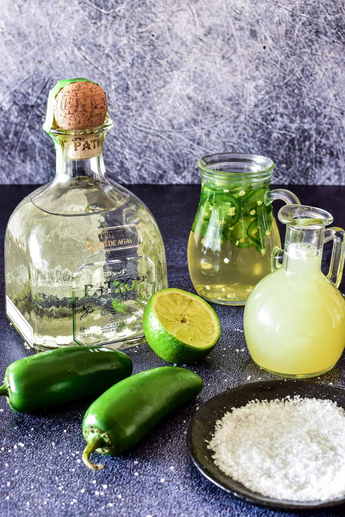Jalapeño Margarita ingredients