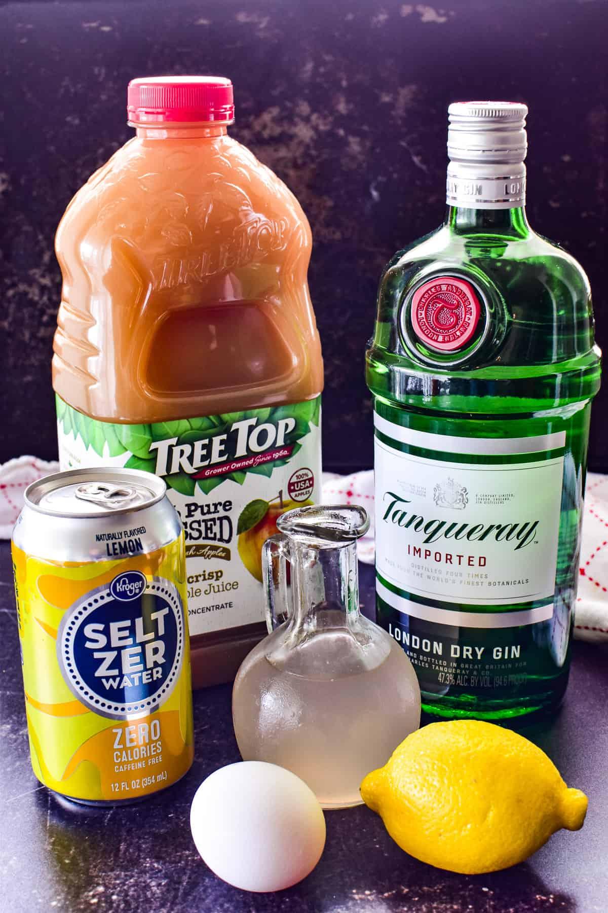 Apple Gin Fizz ingredients