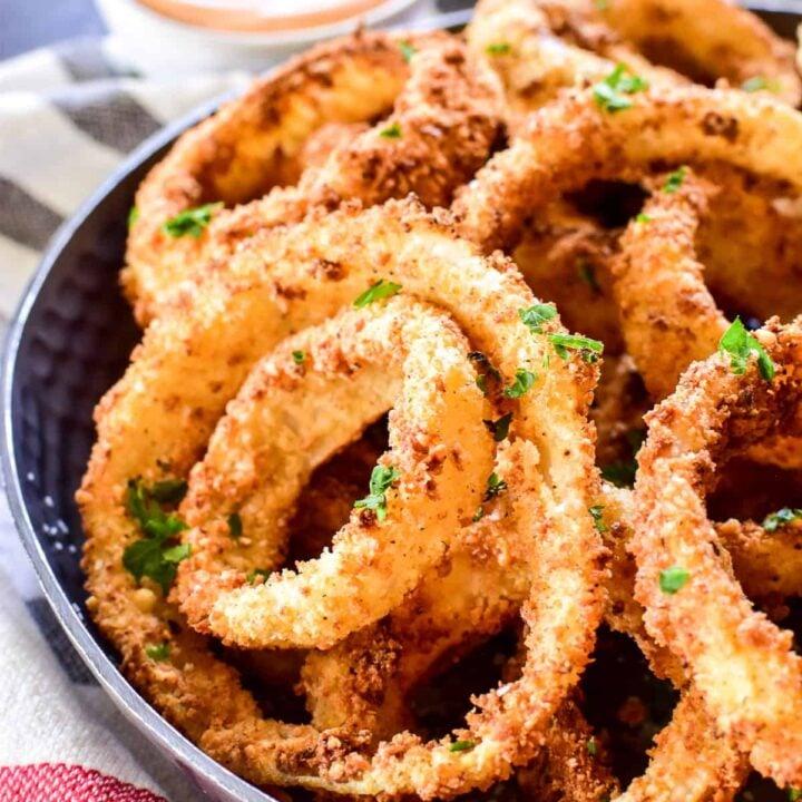 Air Fryer Onion Rings