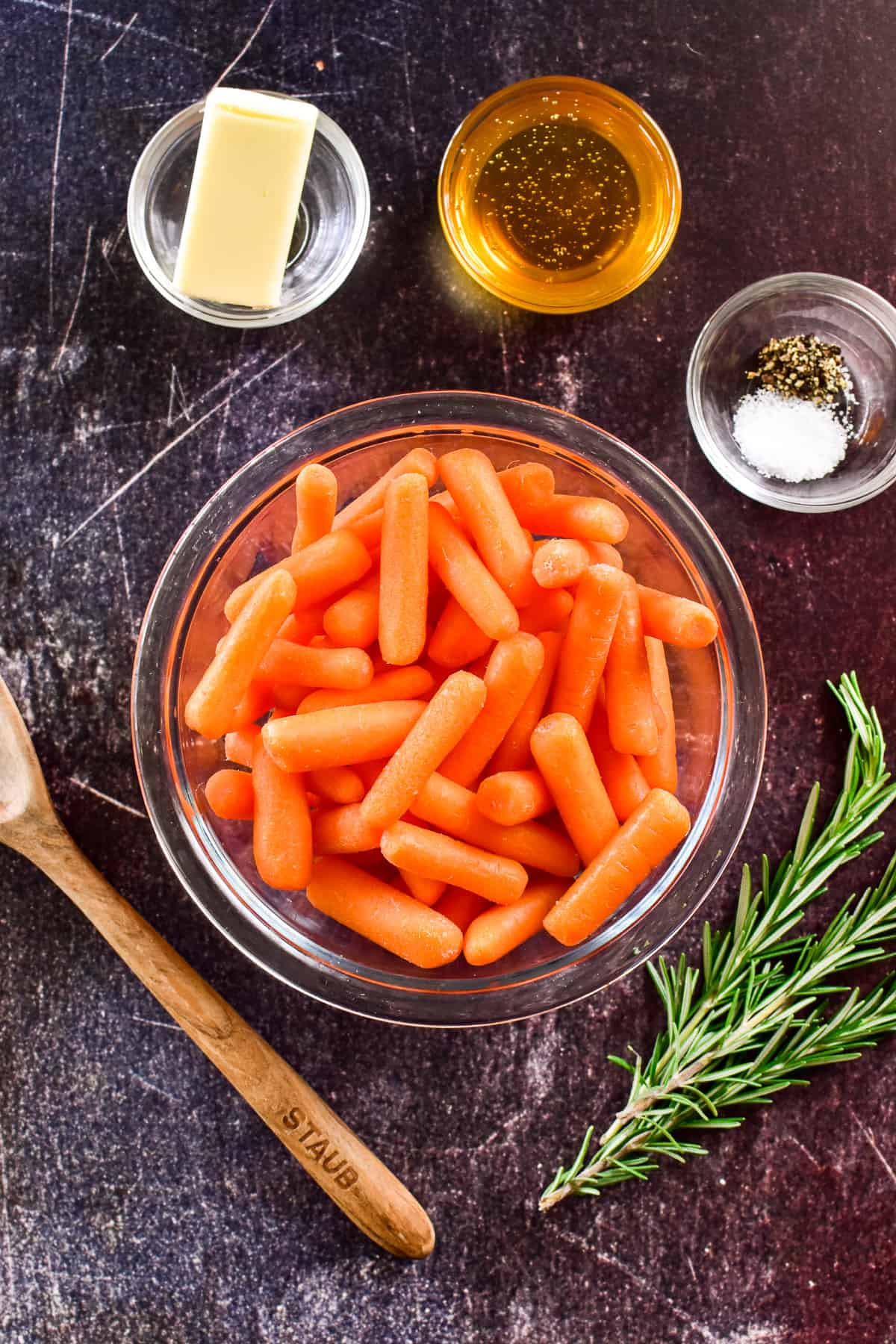 Honey Glazed Carrots ingredients