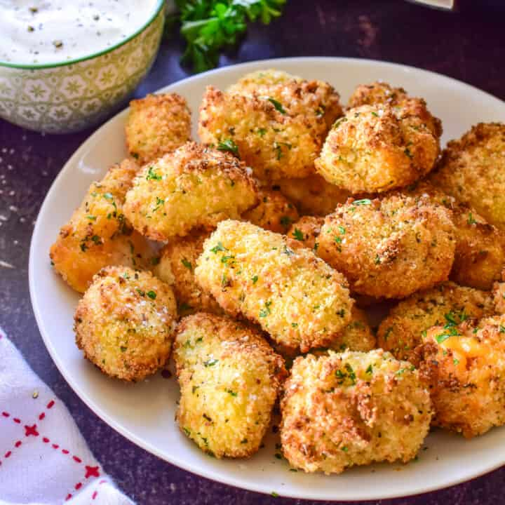 Air Fryer Cheese Curds