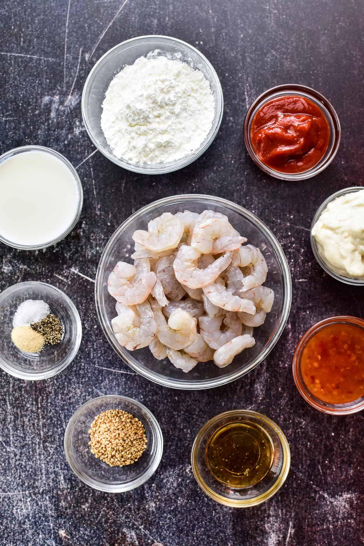 Bang Bang Shrimp ingredients