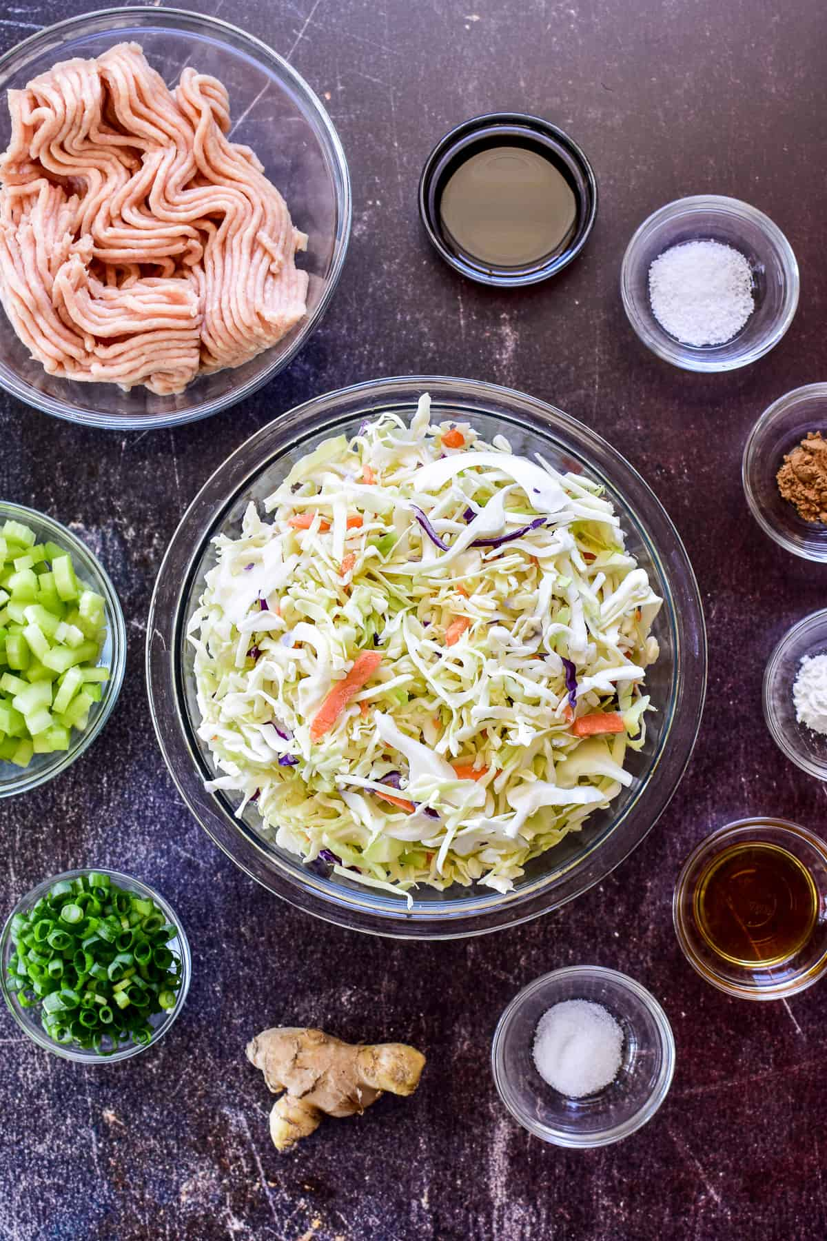 Egg Roll in a Bowl ingredients