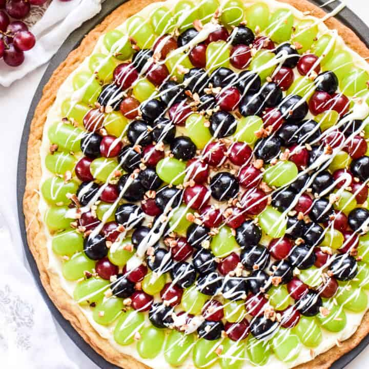 Grape Fruit Pizza