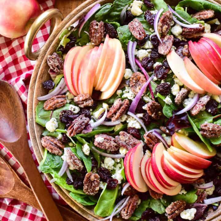 Apple Pecan Salad